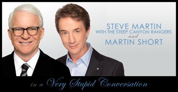 Steve Martin & Martin Short at Moran Theater at Times Union Center