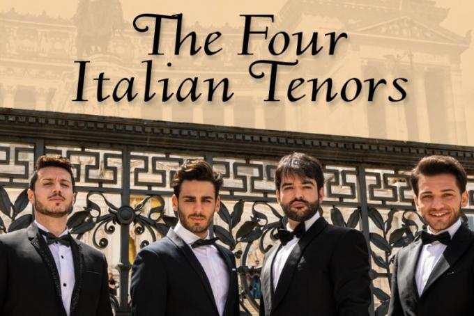 The Four Italian Tenors at Moran Theater at Times Union Center
