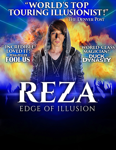 Reza - The Illusionist at Moran Theater at Times Union Center