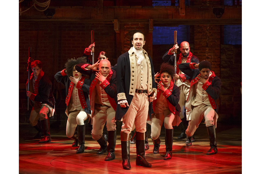 Hamilton at Moran Theater at Times Union Center