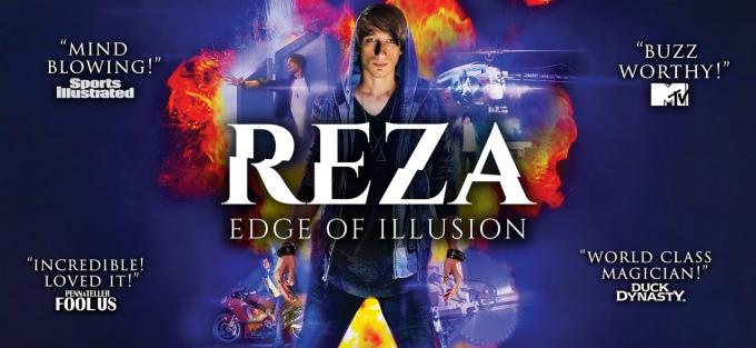 Reza: Edge of Illusion at Moran Theater at Times Union Center