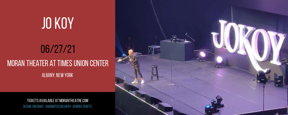 Jo Koy at Moran Theater at Times Union Center